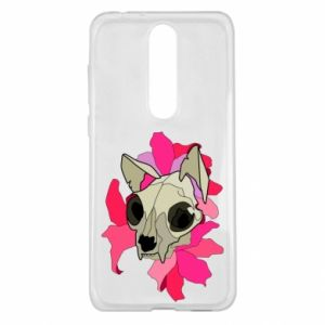 Etui na Nokia 5.1 Plus Skull of a cat
