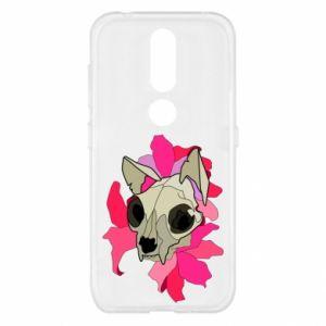 Etui na Nokia 4.2 Skull of a cat