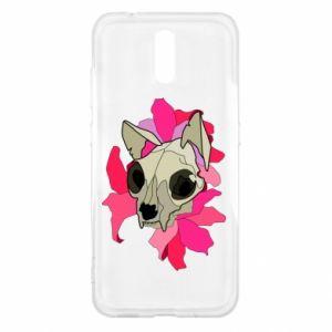 Etui na Nokia 2.3 Skull of a cat