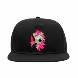 SnapBack Skull of a cat - PrintSalon