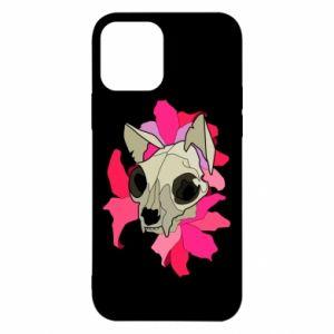 Etui na iPhone 12/12 Pro Skull of a cat