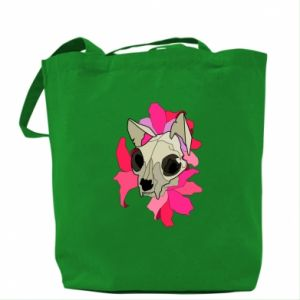 Bag Skull of a cat - PrintSalon
