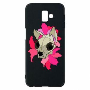 Etui na Samsung J6 Plus 2018 Skull of a cat