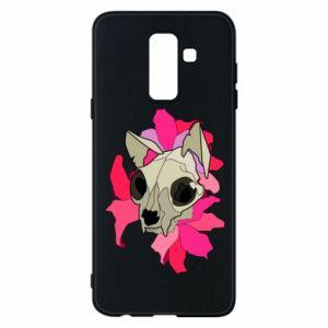 Etui na Samsung A6+ 2018 Skull of a cat
