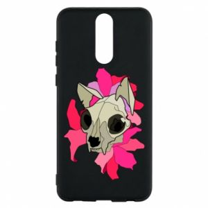 Phone case for Huawei Mate 10 Lite Skull of a cat - PrintSalon