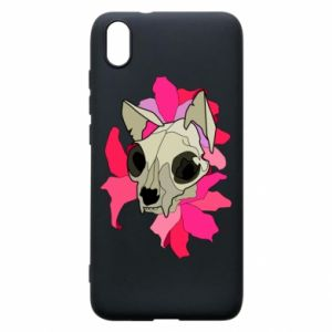 Phone case for Xiaomi Redmi 7A Skull of a cat