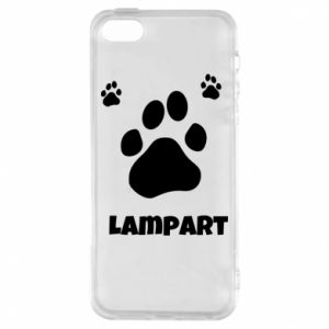 Phone case for iPhone 5/5S/SE Leopards trail