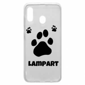 Phone case for Samsung A20 Leopards trail