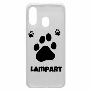 Phone case for Samsung A40 Leopards trail