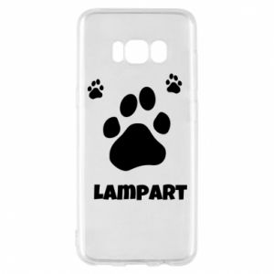 Phone case for Samsung S8 Leopards trail