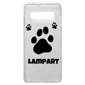 Phone case for Samsung S10+ Leopards trail