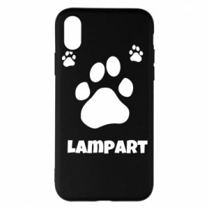 Phone case for iPhone X/Xs Leopards trail