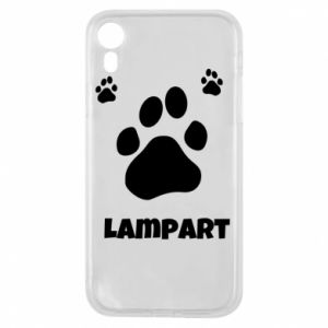 Phone case for iPhone XR Leopards trail