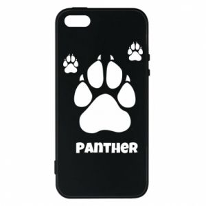 Phone case for iPhone 5/5S/SE Panther trail - PrintSalon