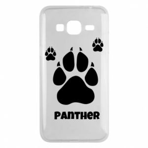 Phone case for Samsung J3 2016 Panther trail - PrintSalon