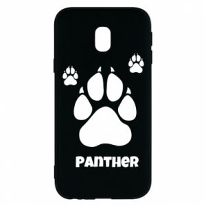 Phone case for Samsung J3 2017 Panther trail - PrintSalon