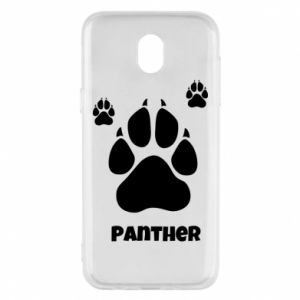 Phone case for Samsung J5 2017 Panther trail - PrintSalon