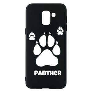 Phone case for Samsung J6 Panther trail - PrintSalon