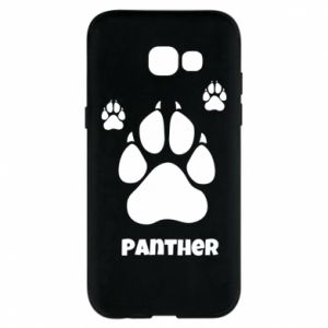 Phone case for Samsung A5 2017 Panther trail - PrintSalon