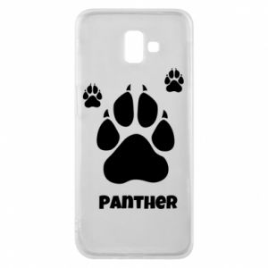 Phone case for Samsung J6 Plus 2018 Panther trail