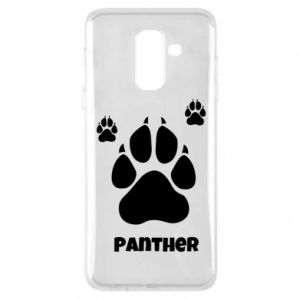 Phone case for Samsung A6+ 2018 Panther trail - PrintSalon