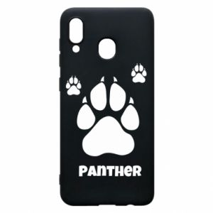Phone case for Samsung A20 Panther trail - PrintSalon