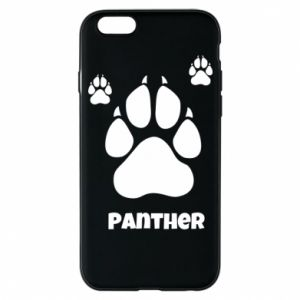 Phone case for iPhone 6/6S Panther trail - PrintSalon