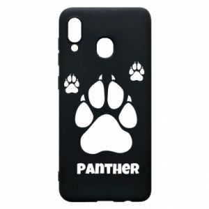 Phone case for Samsung A30 Panther trail - PrintSalon