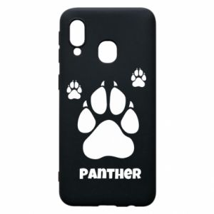 Phone case for Samsung A40 Panther trail - PrintSalon