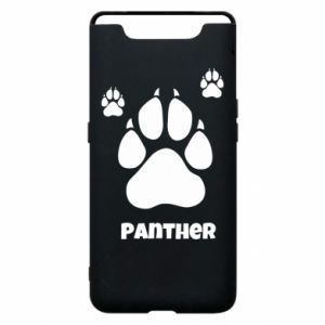 Phone case for Samsung A80 Panther trail - PrintSalon