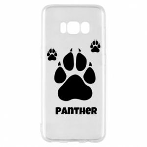 Phone case for Samsung S8 Panther trail - PrintSalon