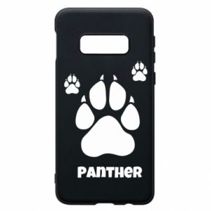 Phone case for Samsung S10e Panther trail - PrintSalon