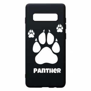 Phone case for Samsung S10+ Panther trail - PrintSalon