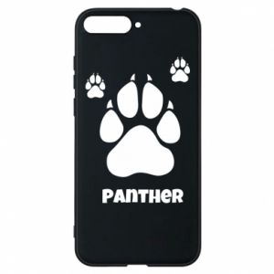 Phone case for Huawei Y6 2018 Panther trail - PrintSalon