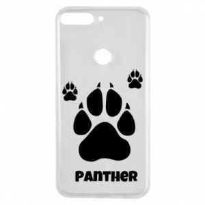 Phone case for Huawei Y7 Prime 2018 Panther trail - PrintSalon