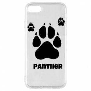 Phone case for iPhone 7 Panther trail - PrintSalon