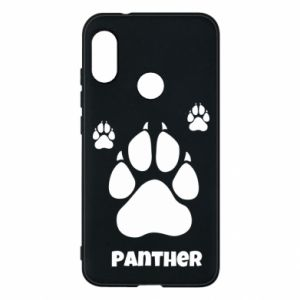 Phone case for Mi A2 Lite Panther trail