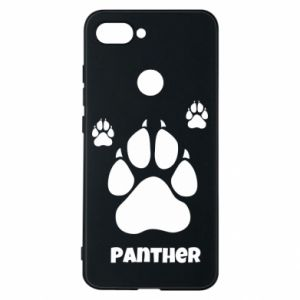 Phone case for Xiaomi Mi8 Lite Panther trail