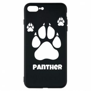 Phone case for iPhone 7 Plus Panther trail - PrintSalon