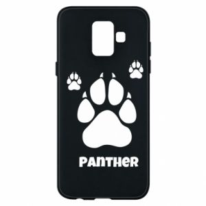 Phone case for Samsung A6 2018 Panther trail - PrintSalon