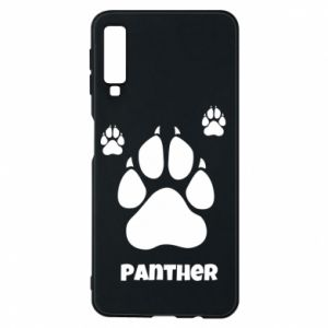 Phone case for Samsung A7 2018 Panther trail - PrintSalon