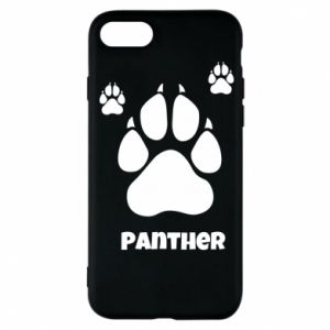 Phone case for iPhone 8 Panther trail - PrintSalon