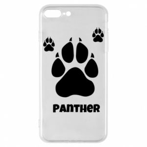 Phone case for iPhone 8 Plus Panther trail - PrintSalon