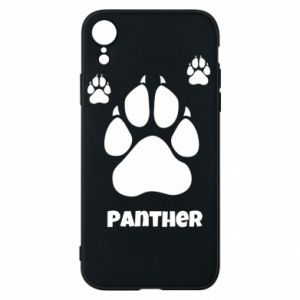 Phone case for iPhone XR Panther trail - PrintSalon