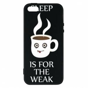 Etui na iPhone 5/5S/SE Sleep is for the weak