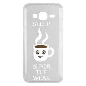 Etui na Samsung J3 2016 Sleep is for the weak
