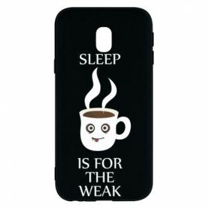 Etui na Samsung J3 2017 Sleep is for the weak