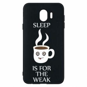 Etui na Samsung J4 Sleep is for the weak