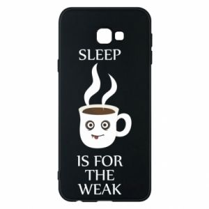 Etui na Samsung J4 Plus 2018 Sleep is for the weak