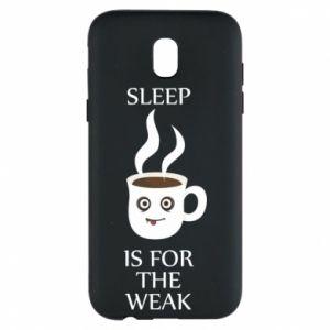 Etui na Samsung J5 2017 Sleep is for the weak
